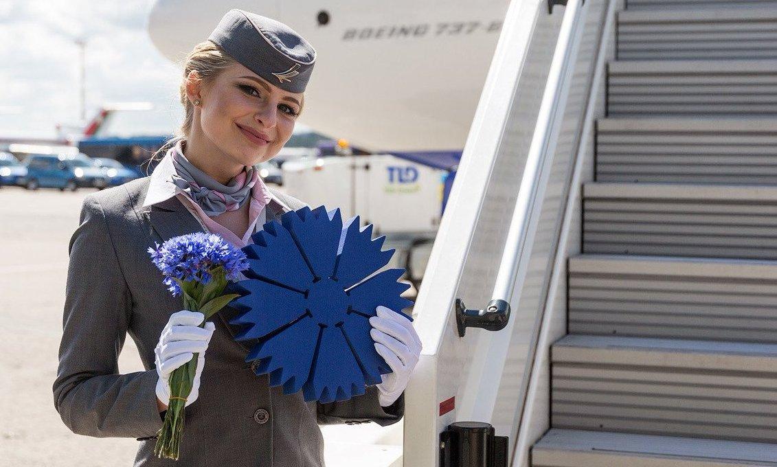 """Регулярные рейсы в Кишинёв с 16 июня 2020г. от """"Белавиа""""."""